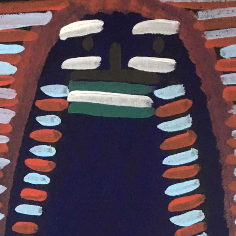 Atham-areny Story by Angelina Ngale, Australian Aboriginal Art