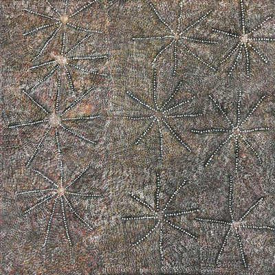Bush Medicine by Patsy Long Kemarre. Australian Aboriginal Art.