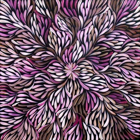 Wild Flowers by Mary Petyarre. Shop from Utopia Lane Art #AboriginalArt