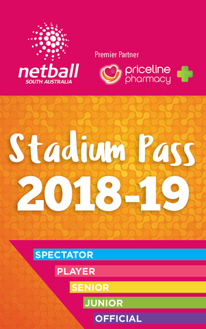 Stadium Pass Junior Spectator