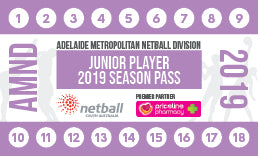 AMND Season Pass Junior Player -18 Games