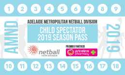 AMND Season Pass Junior Spectator/Official - 15 Games