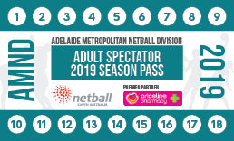 AMND Season Pass Adult Official/Spectator - 15 Games
