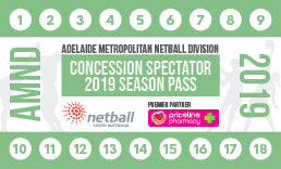 AMND Season Pass Concession Spectator - 15 Games