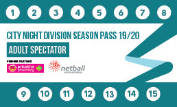 CND Season Pass Adult Spectator/Official - 15 Game