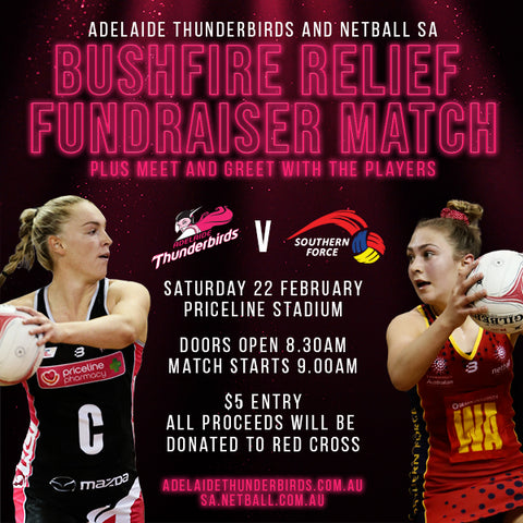 Bushfire Relief Fundraiser Match Entry