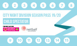 CND Season Pass Child Spectator/Official - 15 Game