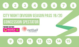 CND Season Pass Concession Spectator/Official - 14 Game