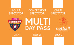 3 Day - Concession Spectator Pass - Priceline Pharmacy Country Championships