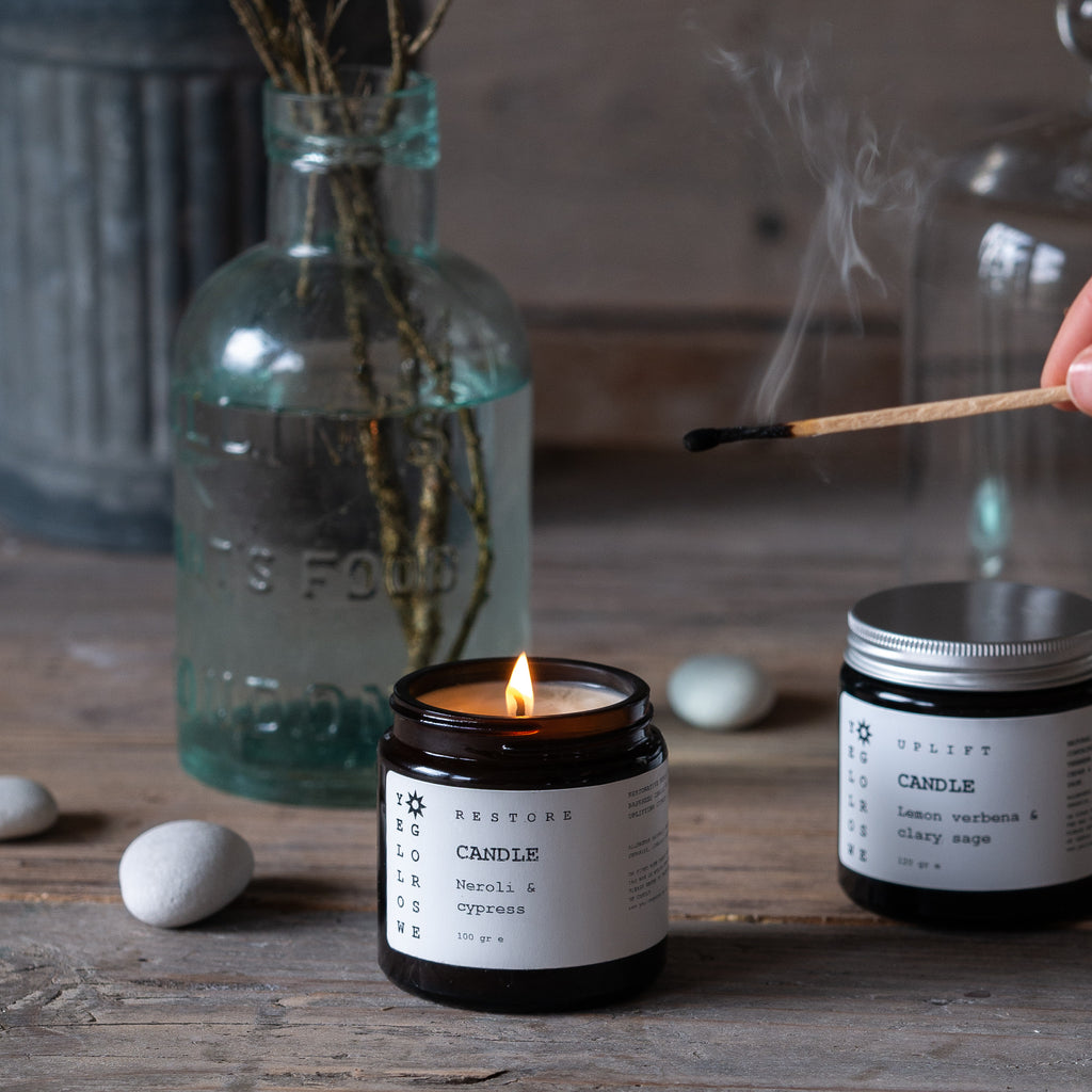 NATURAL RAPESEED CANDLE
