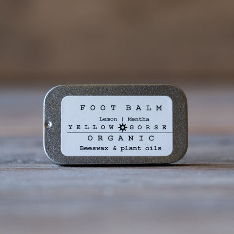 ORGANIC FOOT BALM- LEMON & MENTHA