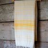 Traditional Turkish Hammam Peshtemal - Yellow