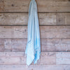 Traditional Turkish Hammam Peshtemal - Light Blue
