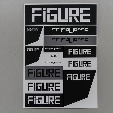 FIGURE STICKER SHEET