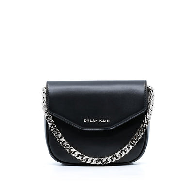 The Melrose Bag Silver with Silk Strap