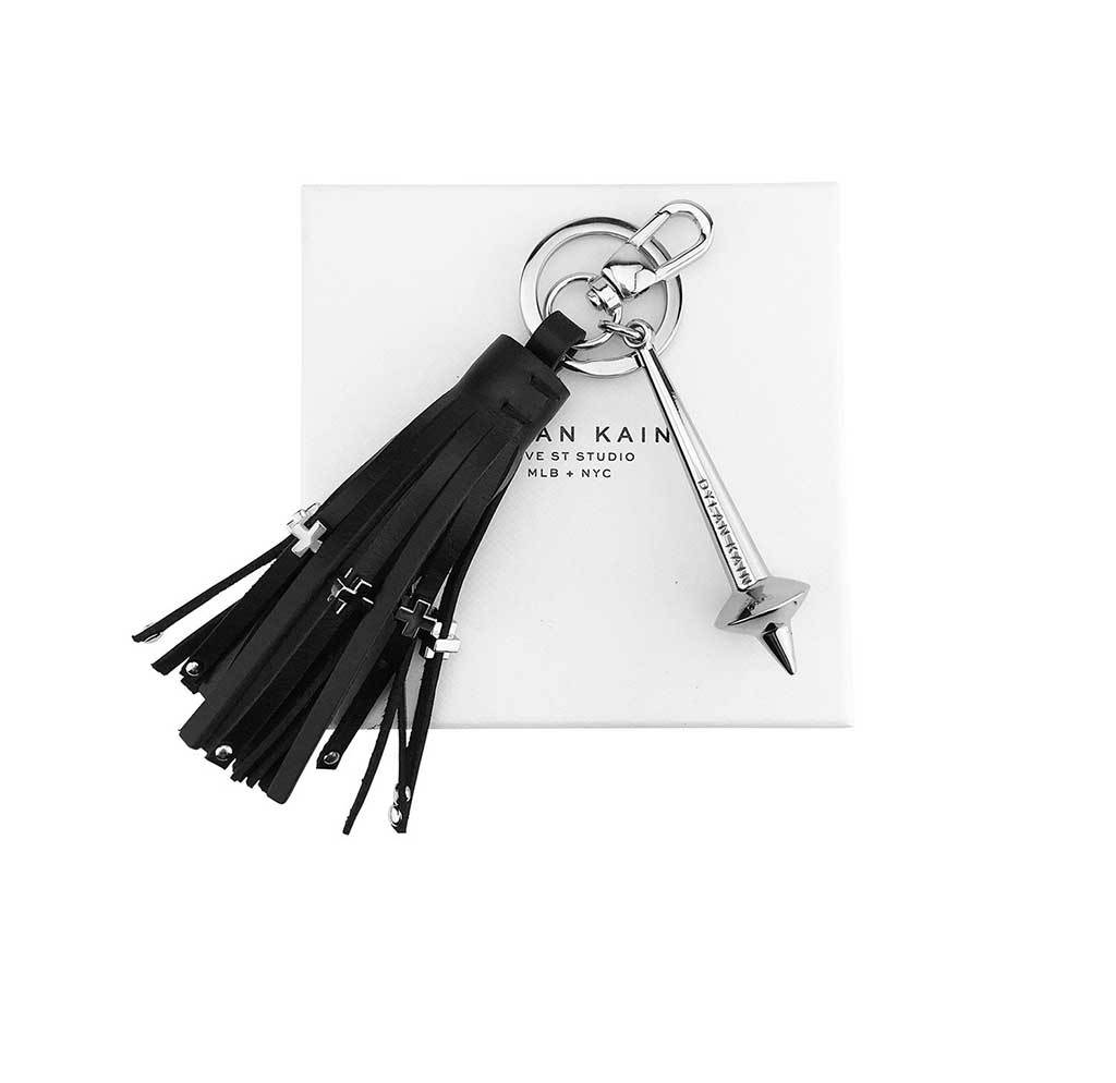 The Bowery Keychain Silver