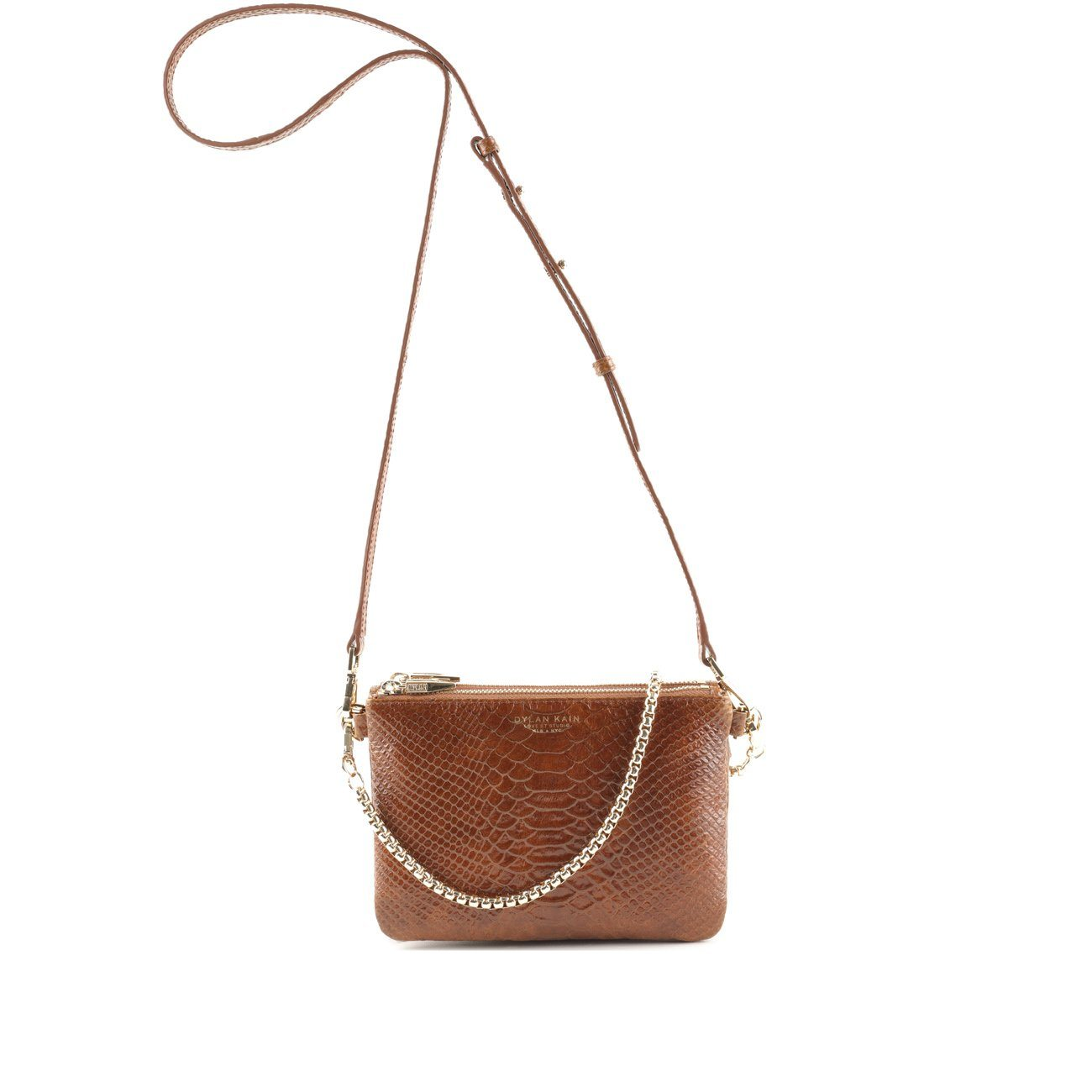 The LSC Caramel Python Bag Light Gold Bag Dylan Kain