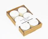 Lemongrass Citronella Natural Bug Mosquitoes Repellent Soy Tea Lights