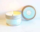 Eucalyptus Pepermint Spa Travel Tin Soy Candles