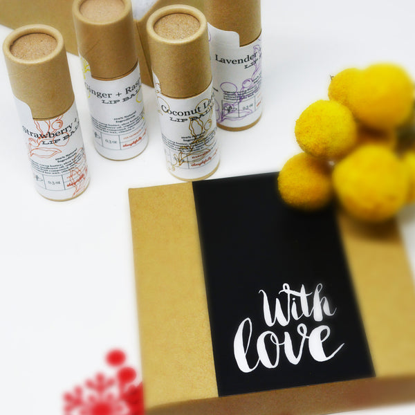 Moisturizing Lip Balm Therapy Gift Box for Your Love One for Any Occasions