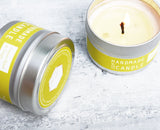 Sweet Basile + Sage Travel Tin Soy Candles