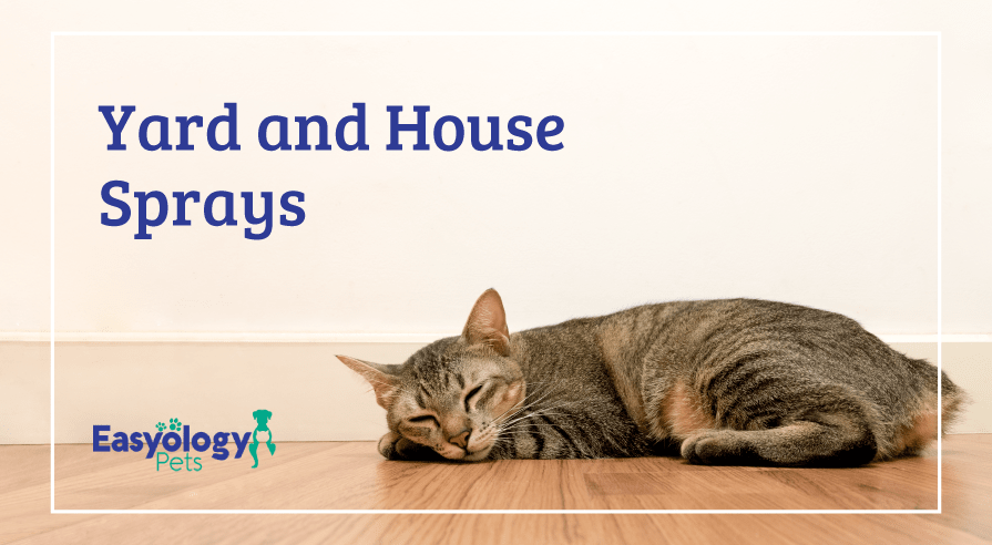 Yard and House Sprays for Cats with Fleas