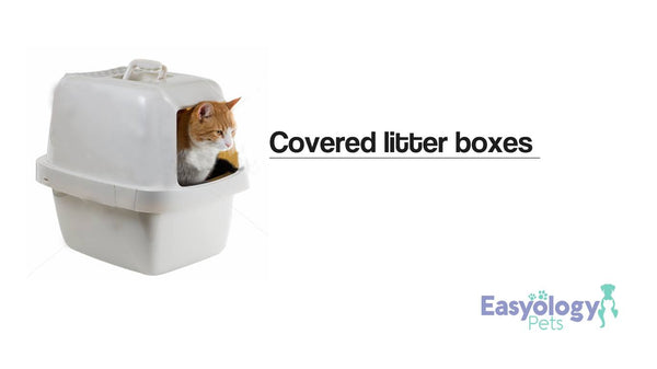 Avoid Covered Cat Litter Boxes