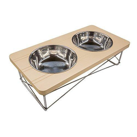 Easyology Pets Stainless Steel Elevated Feeder Bowls