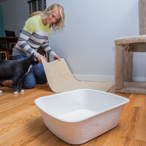 Large Disposable Cat Litter Boxes