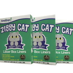 Ziggy Cat Premium Disposable Litter Box Liners- Heavy Duty