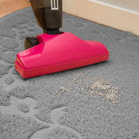 Corner Cat Litter Mat - XL Size - 23' x 23' - Fits Regular And Corner Litter Boxes
