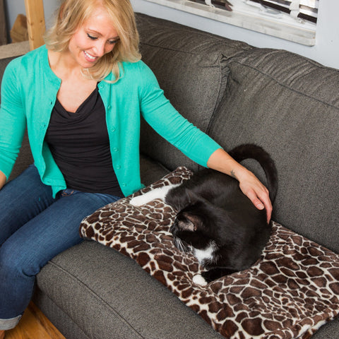 Large Thermal Pet Warming Bed