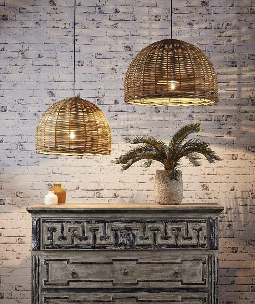 Ratten Wicker Lighting For A Warm Home