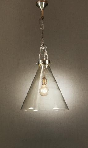 Pendant Light Gadsden Glass Hanging Lamp Large