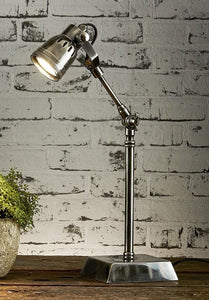 Desk Lamp Seattle Desk Lamp Antique Silver Finish