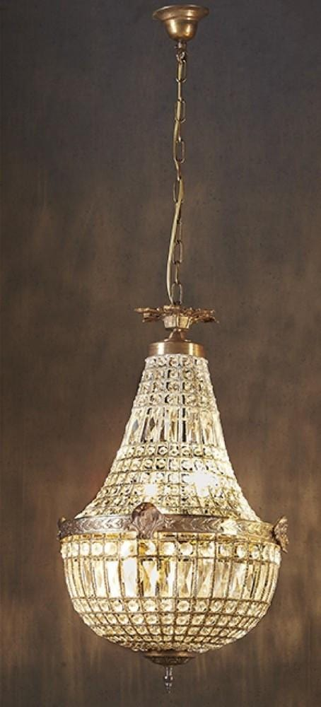Chandelier Entry Way Empire Style 77 H X 42 Dia Cm