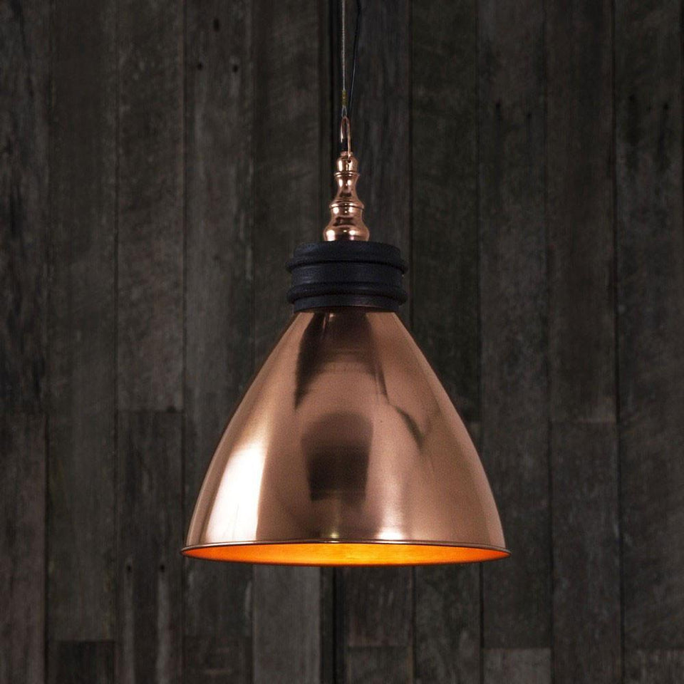 Pendant Light Sardinia Hanging Lamp In Copper