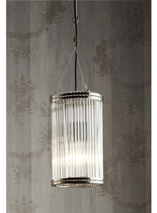 Pendant Light Verre Small Pipe Glass Pendant Lamp