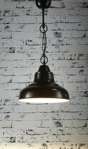 Pendant Light Brasserie Overhead Small Black
