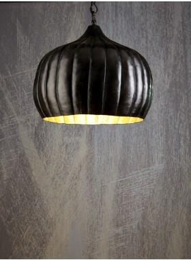 Pendant Light Pumpkin Hanging Lamp In Bronze