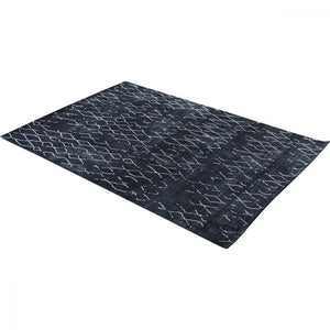 Java Black Diamond Geo Rug