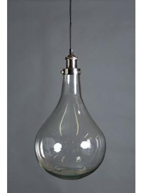 Pendant Light Odean Single Glass Pendant Lamp