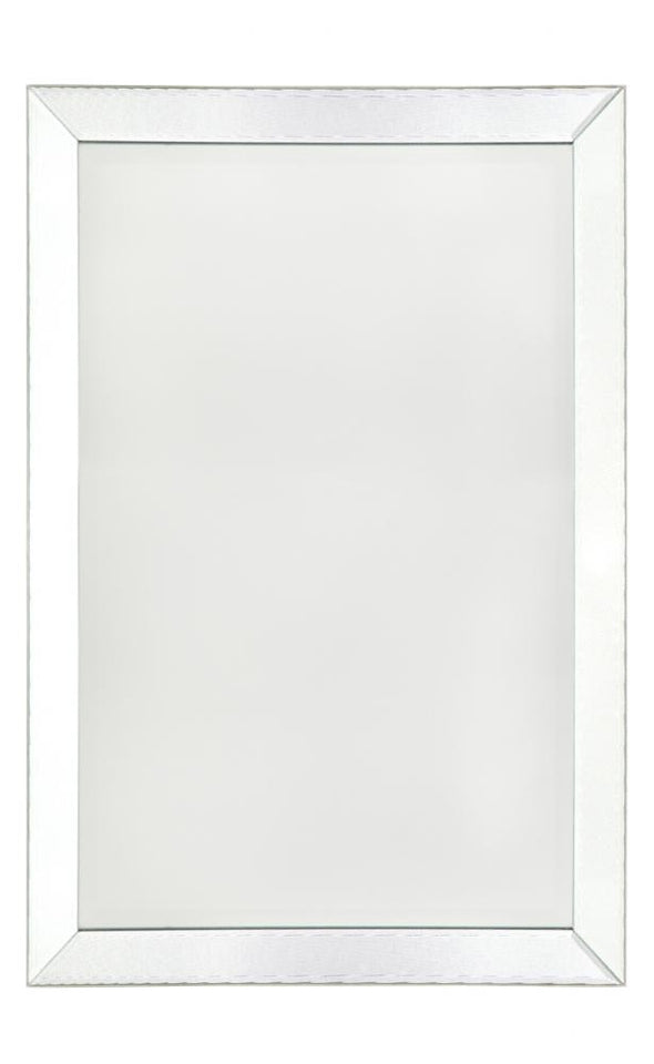 Albany Silver White Wall Mirror