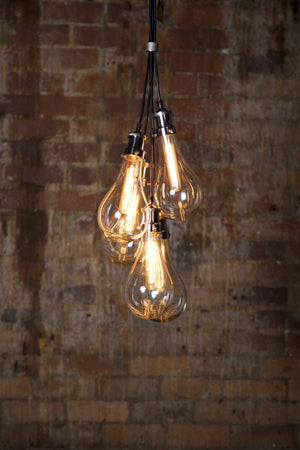 Pendant Light Odean 5 Pieces Glass Pendant Lamps