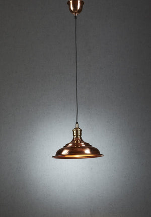 Pendant Light Pacific Hanging Lamp In Copper or Silver
