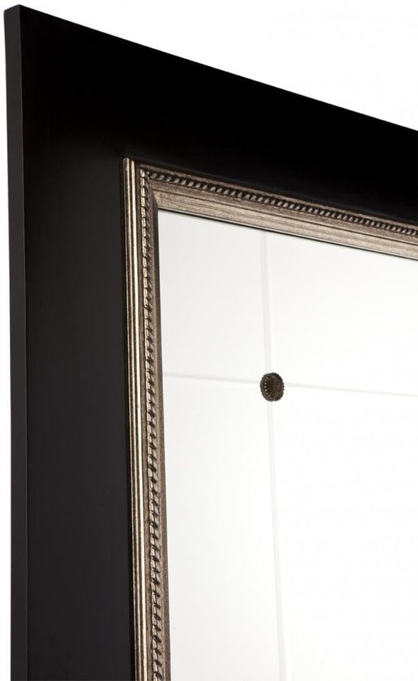 Columbo Black Floor Mirror