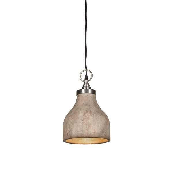 Pendant Light Hard Wood Look Malibu Small