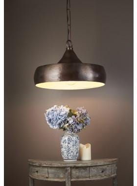 Pendant Light Lafayette Hanging Lamp In Brass Dark