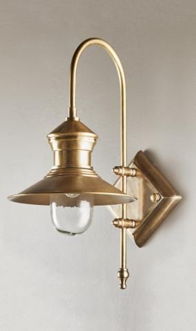 Wall Light St James Wall Lamp Antique Silver/Brass