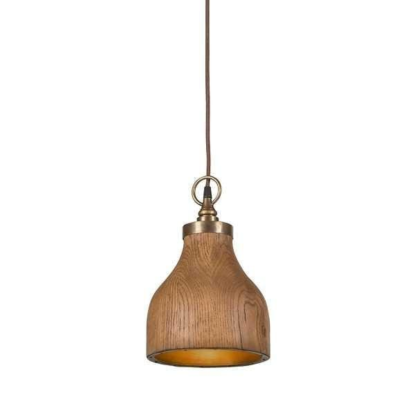 Pendant Light Big Sur - Small - Walnut